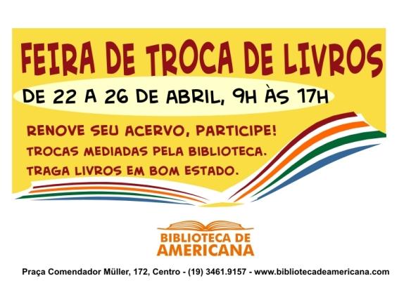Cartaz Feira - 2013 - Abril