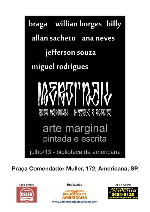 Arte Marginal - Coletiva - curvas