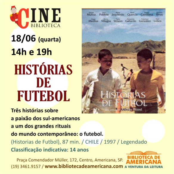 Cine Biblioteca - Histórias de futebol