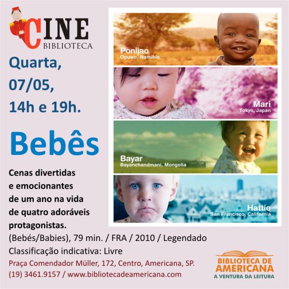 Cine Biblioteca - Bebês