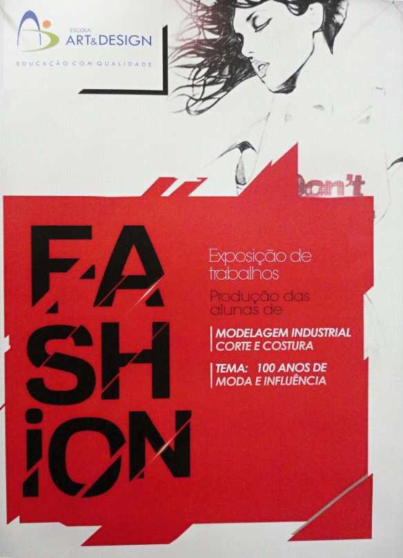 100 anos de moda - Junho 1014 - Cartaz