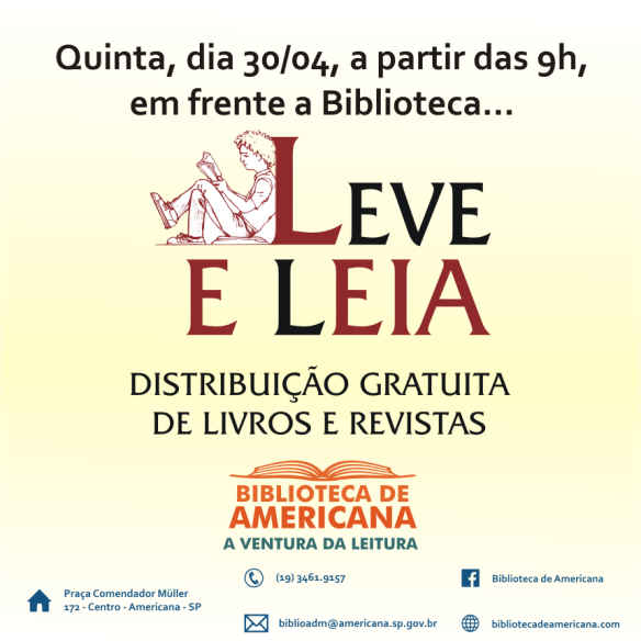 Web banner - Leve e Leia.