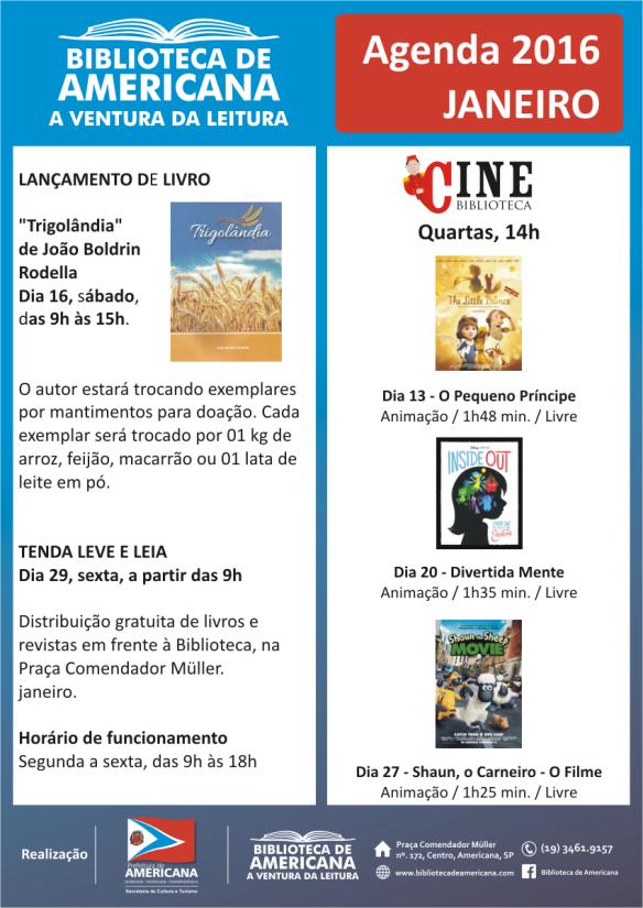 Agenda 2016 - 01 - Janeiro.